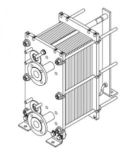 Tl50 теплообменник Паяный пластинчатый теплообменник SWEP B16 Азов
